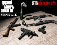 GTA III Weapon Pack
