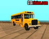 GTA III Beta School Bus for SA