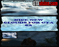 Nice new clouds for GTA SA