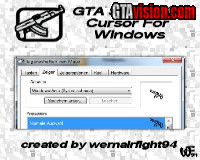 GTA SA AK 47 Cursor For Windows