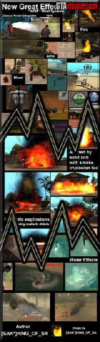 New Great Effects 1 3 (GTA: San Andreas) - GTAvision com