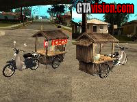 Download: Honda Super Cub mit Yatai | Author: gosuke