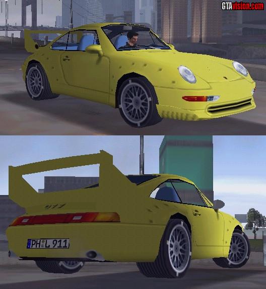 porsche 911 gt2 race version gta iii grand theft auto news downloads. Black Bedroom Furniture Sets. Home Design Ideas
