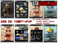 Download: GTA IV Handytheme, Handydesign für Sony Ericsson | Author: Prinz Valium!
