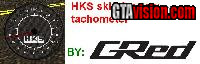 Download: HKS Tachometer Skin | Author: GRED