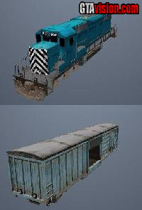 Download: San Andreas Beta Train Mod | Author: KingBulleT 8747