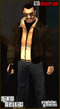 Download: Niko Bellic | Author: GTAdedan & Simkas