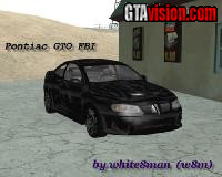 Download: Pontiac GTO FBI '04 | Author: White8Man