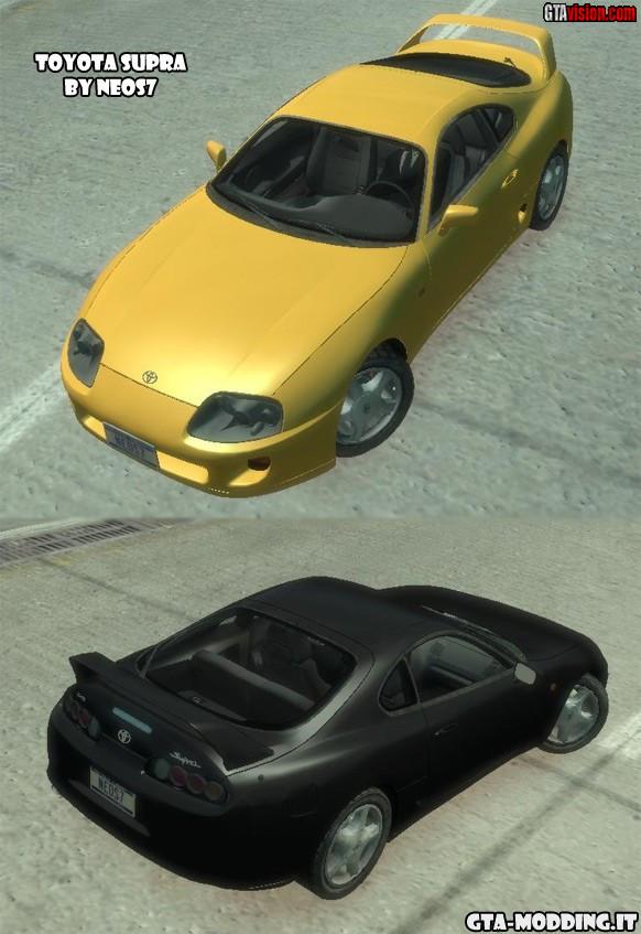 Toyota Supra Mkiv 95 Beta Gta Iv Gtavision Com