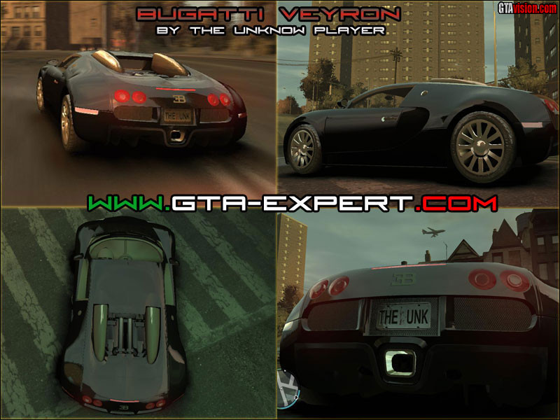 bugatti veyron 16 4 v2 gta iv grand. Black Bedroom Furniture Sets. Home Design Ideas