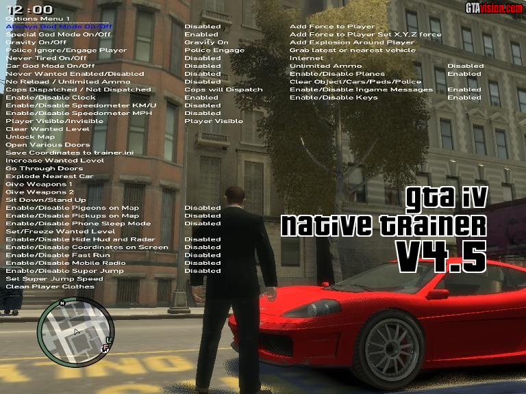 grand theft auto 4 simple native trainer v4 full game free
