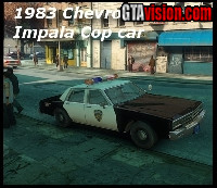 Download: Chevrolet Impala Police '83 | Author: Carface