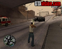 Download: San Andreas GTA IV HUD v1.2 | Author: Alexander Blade