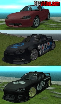 Download: Mazda Miata | Author: IKEY07, Alegator, EA