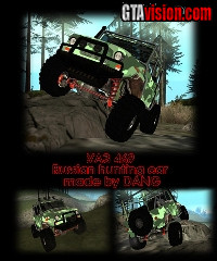 Download: UAZ 469 HUNTER | Author: DANG