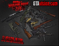 Download: GRIM's Weapon pack for GTA IV and EFLC | Author: GRIM