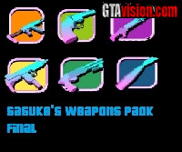 Download: Sasuke's Weapons Pack | Author: Sasuke